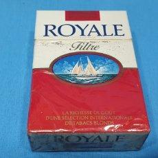 Paquetes de tabaco: PAQUETE DE TABACO - ROYALE FILTRE - CAJETILLA DE 20 CIGARRILLOS - PRECINTADA SIN ABRIR. Lote 233507250