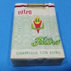 Paquetes de tabaco: PAQUETE DE TABACO - 46 EXTRA FILTRO - CAJETILLA DE 20 CIGARRILLOS - PRECINTADA SIN ABRIR. Lote 233507910