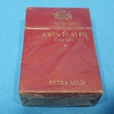 Paquetes de tabaco: PAQUETE DE TABACO - JOHN PLAYER EXTRA MILD - CAJETILLA DE 20 CIGARRILLOS - PRECINTADA SIN ABRIR. Lote 233508790