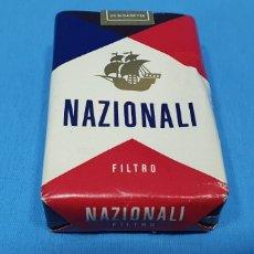 Paquetes de tabaco: PAQUETE DE TABACO - NAZIONALI - CAJETILLA DE 20 CIGARRILLOS - PRECINTADA SIN ABRIR. Lote 233509130