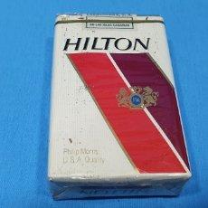 Paquetes de tabaco: PAQUETE DE TABACO - HILTON - CAJETILLA DE 20 CIGARRILLOS - PRECINTADA SIN ABRIR. Lote 257930920