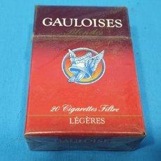 Paquetes de tabaco: PAQUETE DE TABACO - GAULOISES BLONDES - CAJETILLA DE 20 CIGARRILLOS - PRECINTADA SIN ABRIR. Lote 234299585