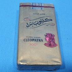 Paquetes de tabaco: PAQUETE DE TABACO - CLEOPATRA FILTER TIPPED - CAJETILLA DE CIGARRILLOS - PRECINTADA SIN ABRIR. Lote 234301345