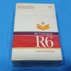 Paquetes de tabaco: PAQUETE DE TABACO - R6 REEMTSMA - CAJETILLA DE 20 CIGARRILLOS - PRECINTADA SIN ABRIR. Lote 234303155