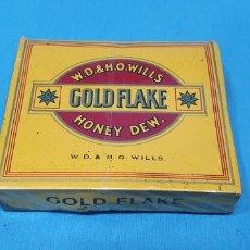 Paquetes de tabaco: PAQUETE DE TABACO - GOLD FLAKE - CAJETILLA DE 20 CIGARRILLOS - PRECINTADA SIN ABRIR. Lote 234478090