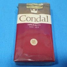 Paquetes de tabaco: PAQUETE DE TABACO - CONDAL IMPERIALES - CAJETILLA DE 20 CIGARRILLOS - PRECINTADA SIN ABRIR. Lote 234478545