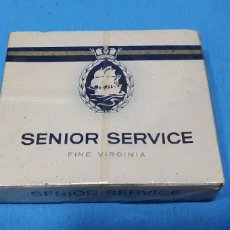 Paquetes de tabaco: PAQUETE DE TABACO - SENIOR SERVICE - CAJETILLA DE 20 CIGARRILLOS - PRECINTADA SIN ABRIR. Lote 234479385