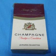 Paquetes de tabaco: PAQUETE DE TABACO - CHAMPAGNE - CAJETILLA DE 20 CIGARRILLOS - PRECINTADA SIN ABRIR. Lote 234480005