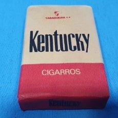 Paquetes de tabaco: PAQUETE DE TABACO - KENTUCKY - CAJETILLA DE 12 CIGARROS - PRECINTADA SIN ABRIR. Lote 234480810
