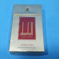 Paquetes de tabaco: PAQUETE DE TABACO - DUNHILL LUXURY LENGTH - CAJETILLA DE 20 CIGARRILLOS - PRECINTADA SIN ABRIR. Lote 234482555