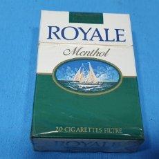 Paquetes de tabaco: PAQUETE DE TABACO - ROYALE MENTHOL - CAJETILLA DE 20 CIGARRILLOS - PRECINTADA SIN ABRIR. Lote 234484030
