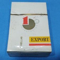Paquetes de tabaco: PAQUETE DE TABACO - HELLAS 1 EXPORT - CAJETILLA DE 20 CIGARRILLOS - PRECINTADA SIN ABRIR. Lote 234485550