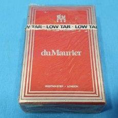 Paquetes de tabaco: PAQUETE DE TABACO - DU MAURIER - CAJETILLA DE 20 CIGARRILLOS - PRECINTADA SIN ABRIR. Lote 234632405