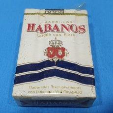 Paquetes de tabaco: PAQUETE DE TABACO - HABANOS - CAJETILLA DE 20 CIGARRILLOS - PRECINTADA SIN ABRIR. Lote 234632730