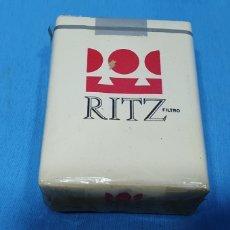 Paquetes de tabaco: PAQUETE DE TABACO - RITZ - CAJETILLA DE 20 CIGARRILLOS - PRECINTADA SIN ABRIR. Lote 234634110