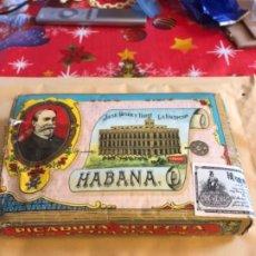 Paquetes de tabaco: ANTIGUO PAQUETE CON PICADURA DE TABACO, 1909. Lote 236175850