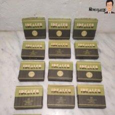 Paquetes de tabaco: 15 PAQUETES DE TABACO MARCA IDEALES - HEBRA PAPEL TRIGO - SIN ABRIR - MUY BUEN ESTADO. Lote 236936050