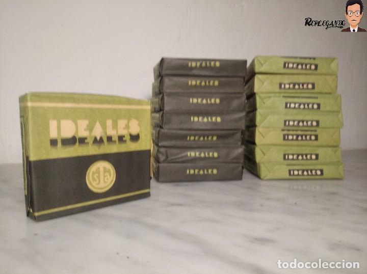 Paquetes de tabaco: 15 PAQUETES DE TABACO MARCA IDEALES - HEBRA PAPEL TRIGO - SIN ABRIR - MUY BUEN ESTADO - Foto 5 - 236936050