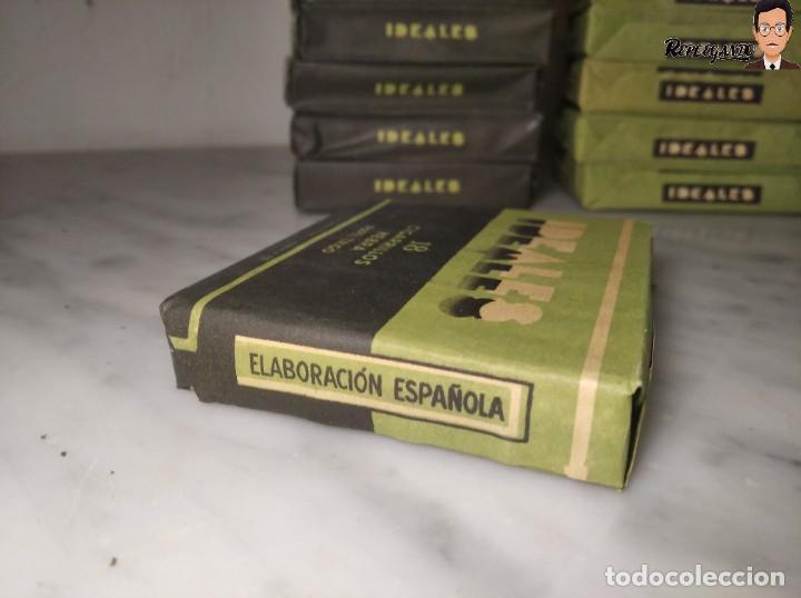 Paquetes de tabaco: 15 PAQUETES DE TABACO MARCA IDEALES - HEBRA PAPEL TRIGO - SIN ABRIR - MUY BUEN ESTADO - Foto 8 - 236936050