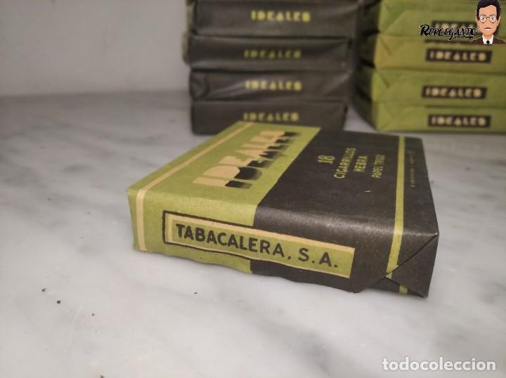 Paquetes de tabaco: 15 PAQUETES DE TABACO MARCA IDEALES - HEBRA PAPEL TRIGO - SIN ABRIR - MUY BUEN ESTADO - Foto 9 - 236936050