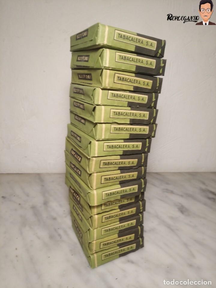 Paquetes de tabaco: 15 PAQUETES DE TABACO MARCA IDEALES - HEBRA PAPEL TRIGO - SIN ABRIR - MUY BUEN ESTADO - Foto 15 - 236936050
