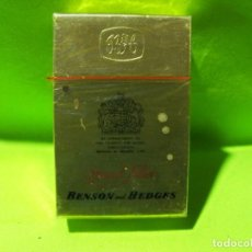 Paquetes de tabaco: ANTIGUO PAQUETE DE TABACO BENSON AND HEDGES MADE IN ENGLAND.. Lote 238158970