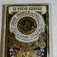 Paquetes de tabaco: PAQUETE DE PICADURA LA NUEVA HABANA, HIJOS DE JUAN REIG. MIDE 12 X 8 X 3 CMS.. Lote 238735615
