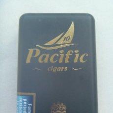 Paquetes de tabaco: PAQUETE DE TABACO : CAJA DE CIGARRILLOS PACIFIC , CIGARS . DE PLASTICO. Lote 241210640