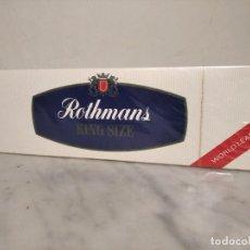 Paquets de cigarettes: VIEJO CARTÓN DE TABACO ROTHMANS - KING SIZE - (SIN DESPRECINTAR) ÚNICO EN TODOCOLECCIÓN. Lote 242140540