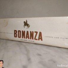 Paquetes de tabaco: VIEJO CARTÓN DE TABACO BONANZA - TABACALERA ESPAÑOLA - (SIN DESPRECINTAR) - ÚNICO EN TODOCOLECCIÓN. Lote 242150750