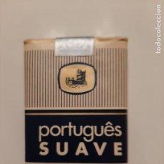 Paquetes de tabaco: PAQUETE DE TABACO MARCA PORTUGUES SUAVE. Lote 242892565