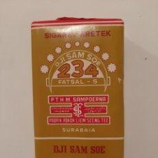 Paquetes de tabaco: PAQUETE DE TABACO INDONESIO MARCA DJI SAM SOE. Lote 242899125