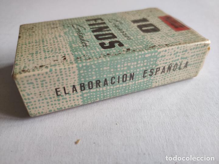 Paquetes de tabaco: Cajetilla de Cigarrillos - 10 Cigarros Finos Cortados - Tabacalera - Precintada - ESPAÑOLES - Foto 2 - 243026705