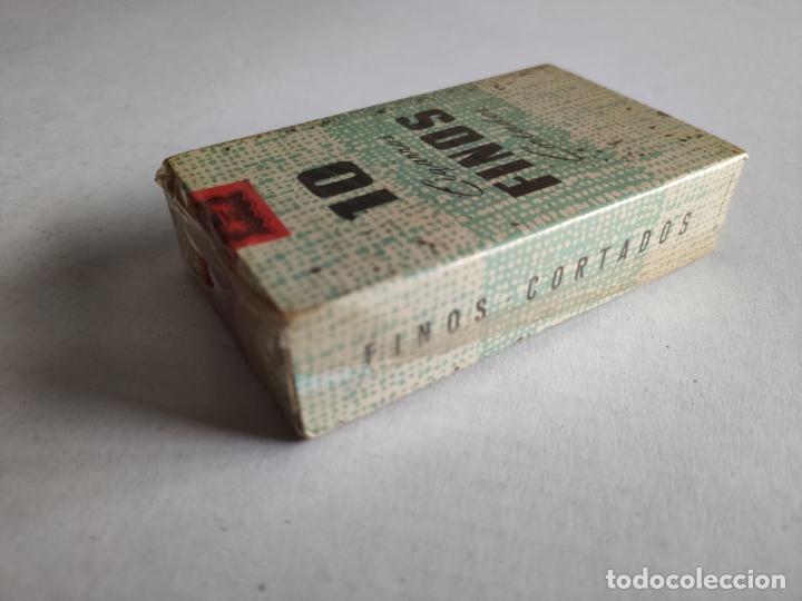Paquetes de tabaco: Cajetilla de Cigarrillos - 10 Cigarros Finos Cortados - Tabacalera - Precintada - ESPAÑOLES - Foto 4 - 243026705