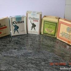 Paquetes de tabaco: LOTE TABACO ANTIGUO PERFECTO (COLECCIÓN,NO ACTO PARA CONSUMO). Lote 276742048