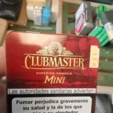Paquetes de tabaco: CAJA METALICA CLUB MASTER. Lote 243618200