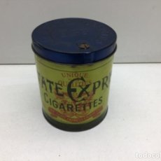 Paquetes de tabaco: BOTE TABACO STATE EXPRESS CIGARRETTES 555 - LATA Y PAPEL MUY BUEN ESTADO AÑOS 50/60. Lote 244485990