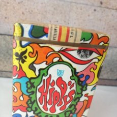 Paquetes de tabaco: ANTIGUO PAQUETE DE TABACO PRECINTADO HIPPY 20 CIGARRILLOS MENTOL FILTRO. SELLO ESPAÑA. RARO. Lote 244607700