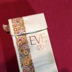 Paquetes de tabaco: EVE 120´S - VACIO - CARTON. Lote 244623800