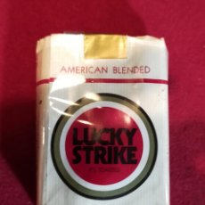Paquetes de tabaco: LUCKY STRIKE - VACIO - PAPEL. Lote 244623925