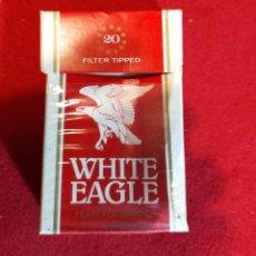 Paquetes de tabaco: WHITE EAGLE- VACIO - CARTON. Lote 244780145