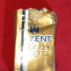 Paquetes de tabaco: KENT GOLDEN VACIO - PAPEL. Lote 244780535