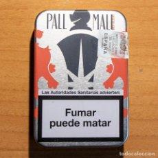 Paquetes de tabaco: CAJA METÁLICA PITILLERA - CIGARRILLOS PALL MALL NEW ORLEANS - VACÍA. Lote 262855335