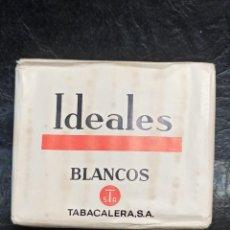 Paquetes de tabaco: IDEALES BLANCOS. SIN ABRIR. B2. Lote 248716850