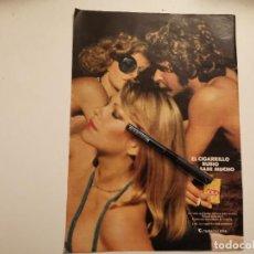 Paquets de cigarettes: PAQUETE TABACO CIGARRILLOS MARCA LOLA ANUNCIO PUBLICIDAD REVISTA 1975. Lote 252697170