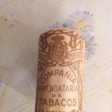 Paquetes de tabaco: PAQUETE TABACO COMPAÑÍA ARRENDATARIA. Lote 252992380