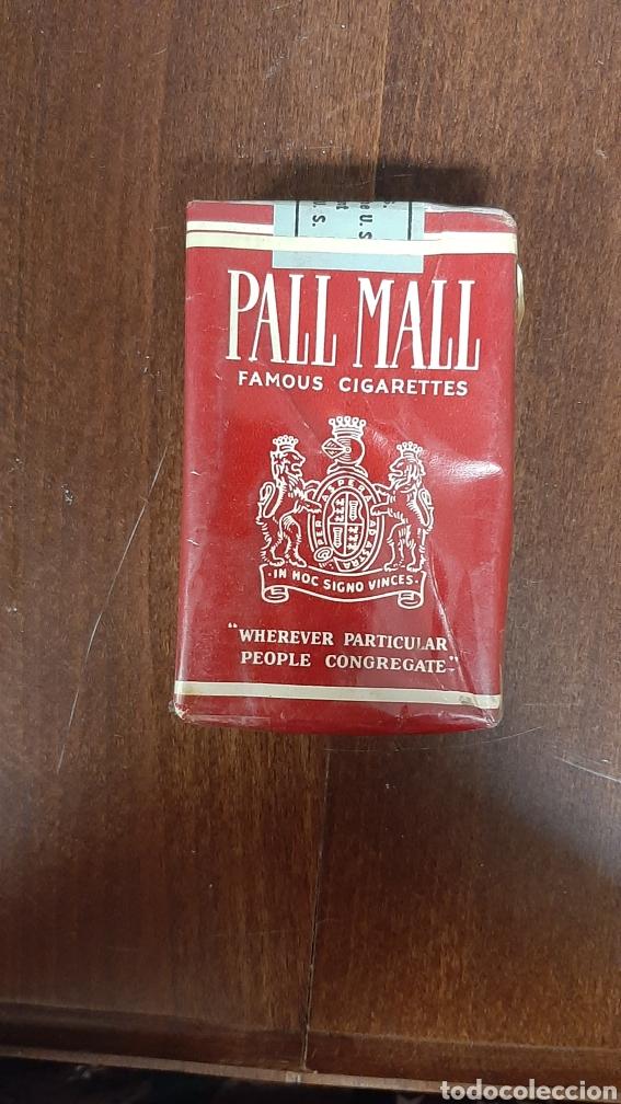 PAQUETE DE TABACO CERRADO PALL MALL (Coleccionismo - Objetos para Fumar - Paquetes de tabaco)