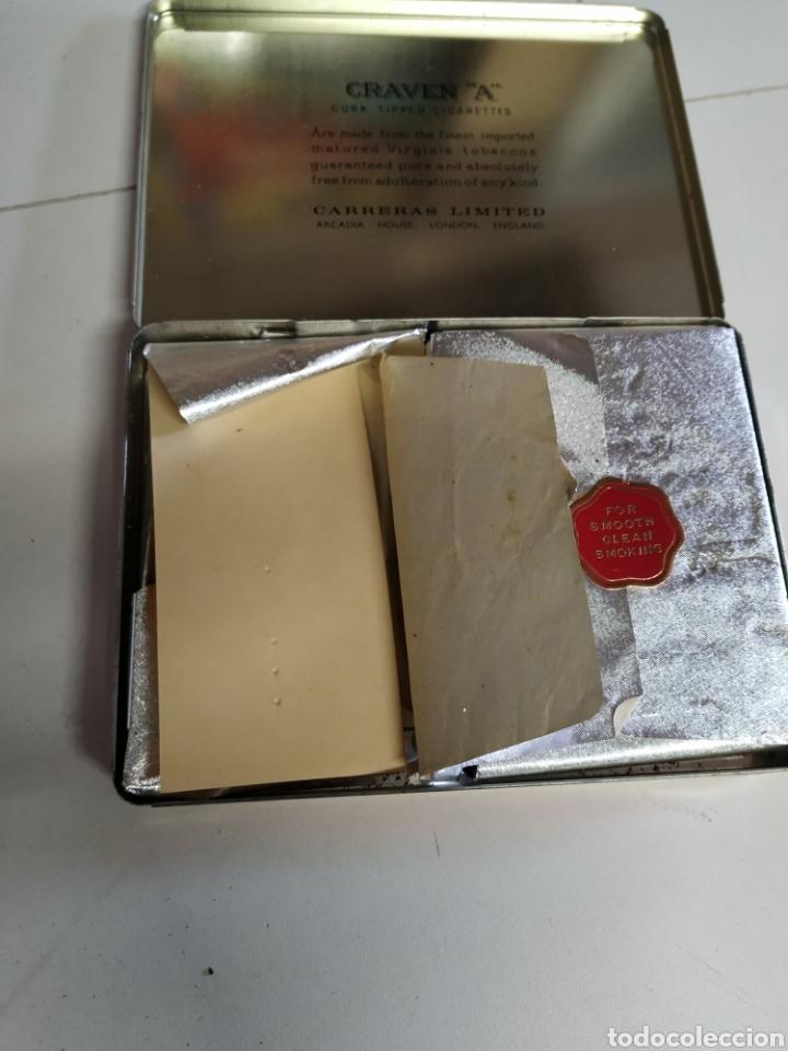 Paquetes de tabaco: Caja metálica cigarrillos graven A - Foto 4 - 254005680