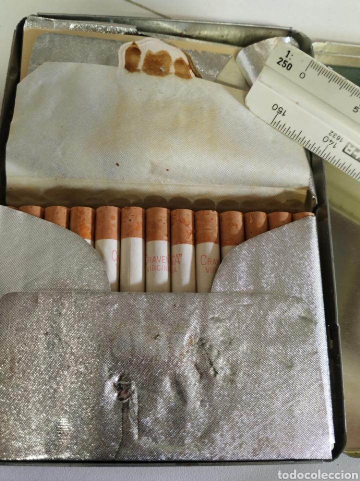 Paquetes de tabaco: Caja metálica cigarrillos graven A - Foto 6 - 254005680