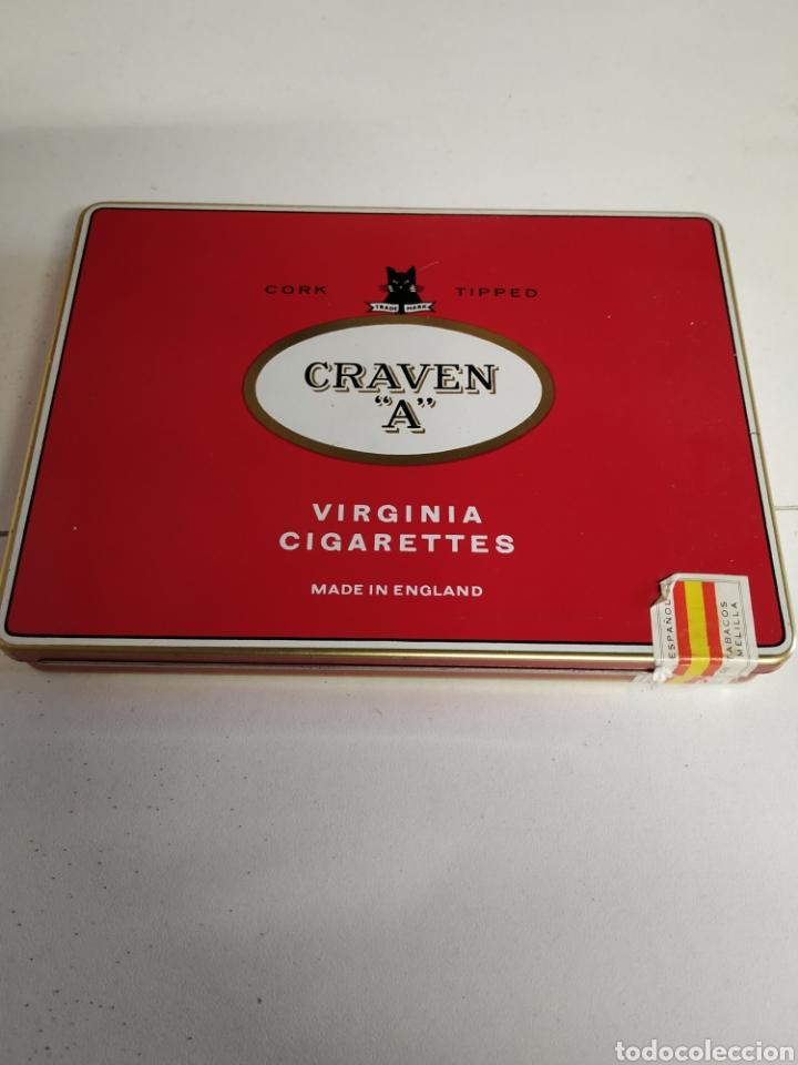 CAJA METÁLICA CIGARRILLOS GRAVEN A (Coleccionismo - Objetos para Fumar - Paquetes de tabaco)